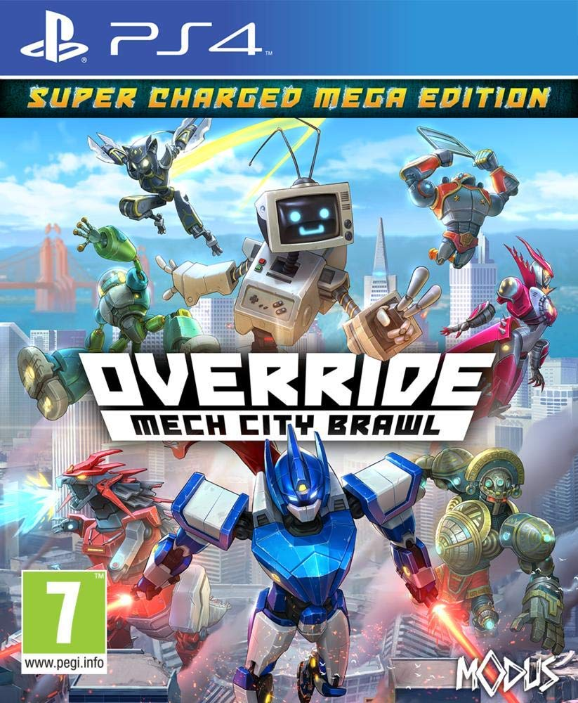Override: Mech City Brawl coop PS4, Xbox One, PC